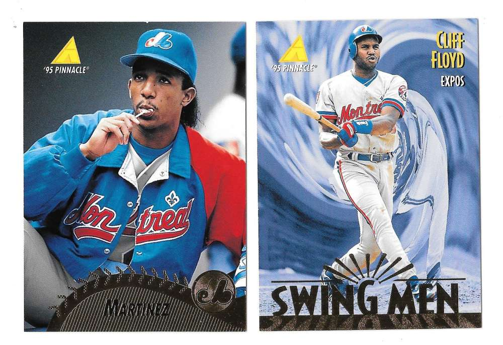 1995 Pinnacle - MONTREAL EXPOS Team Set