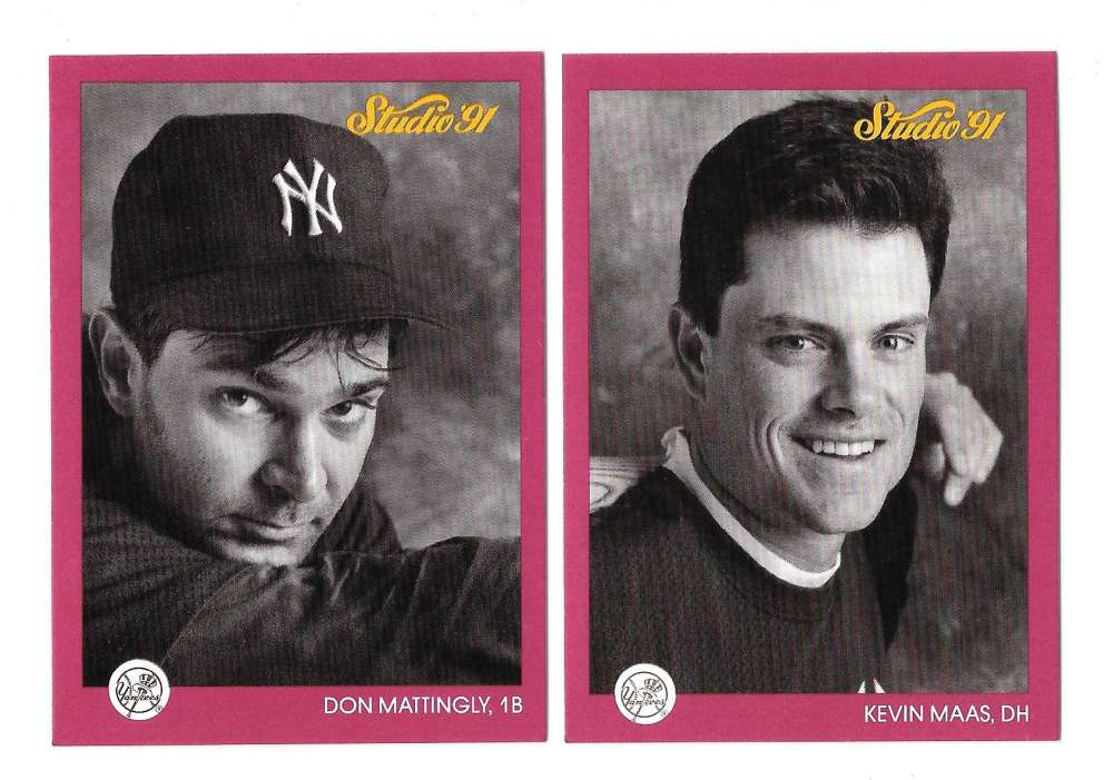 1991 STUDIO - NEW YORK YANKEES Team Set