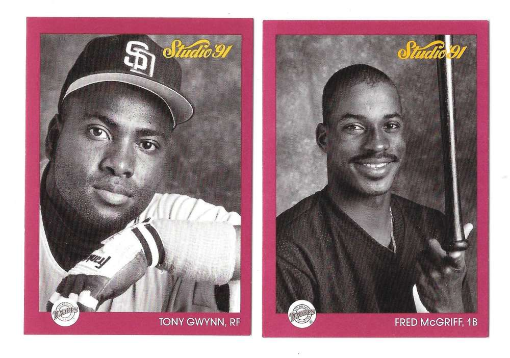 1991 STUDIO - SAN DIEGO PADRES Team Set