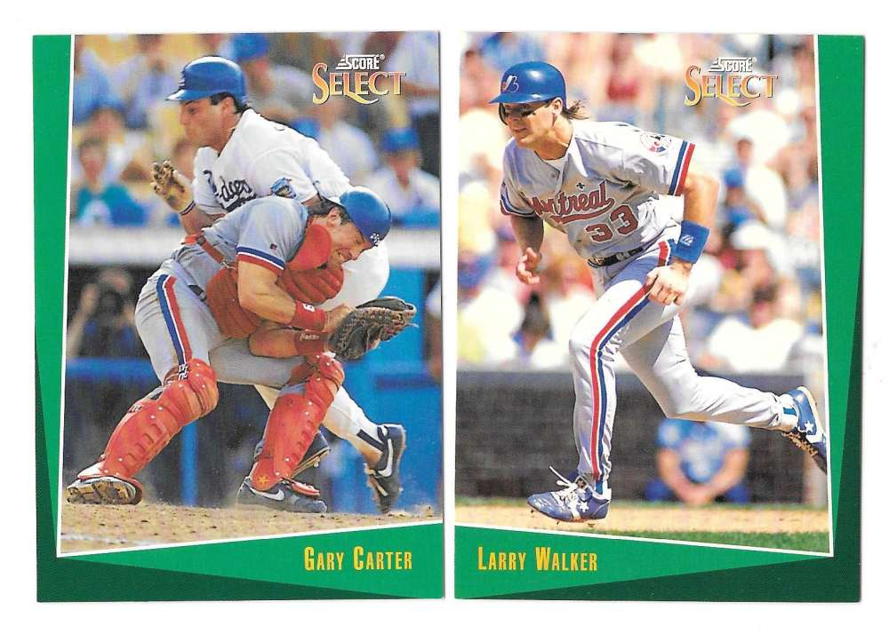 1993 Select - MONTREAL EXPOS Team Set