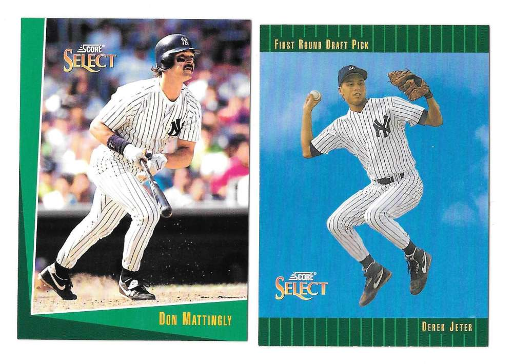 1993 Select - NEW YORK YANKEES Team Set w/ Derek Jeter RC
