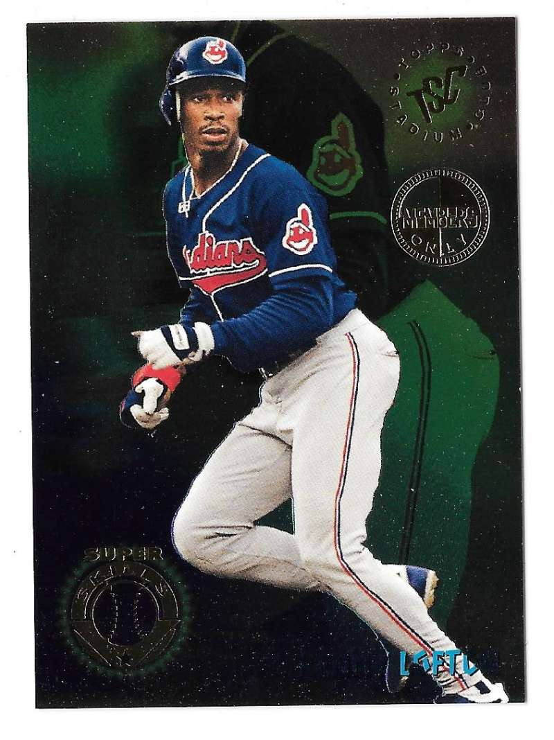 1995 TSC Members Only Super Skills - CLEVELAND INDIANS Kenny Lofton