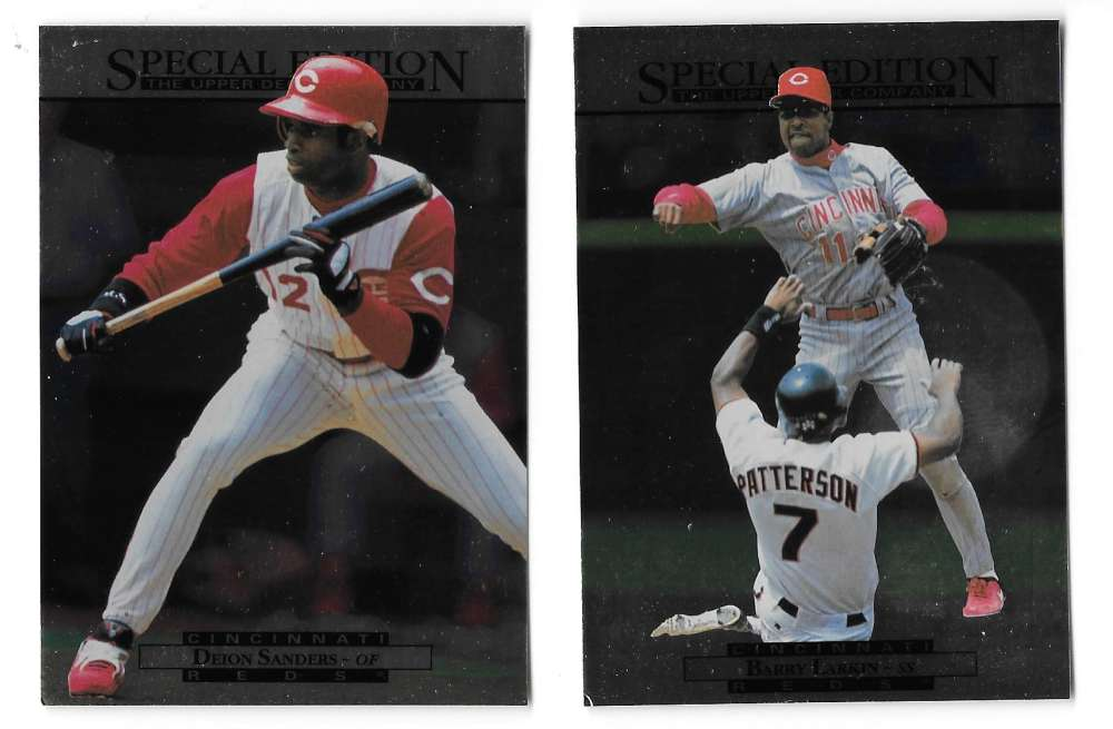 1995 Upper Deck Special Edition SE - CINCINNATI REDS Team Set