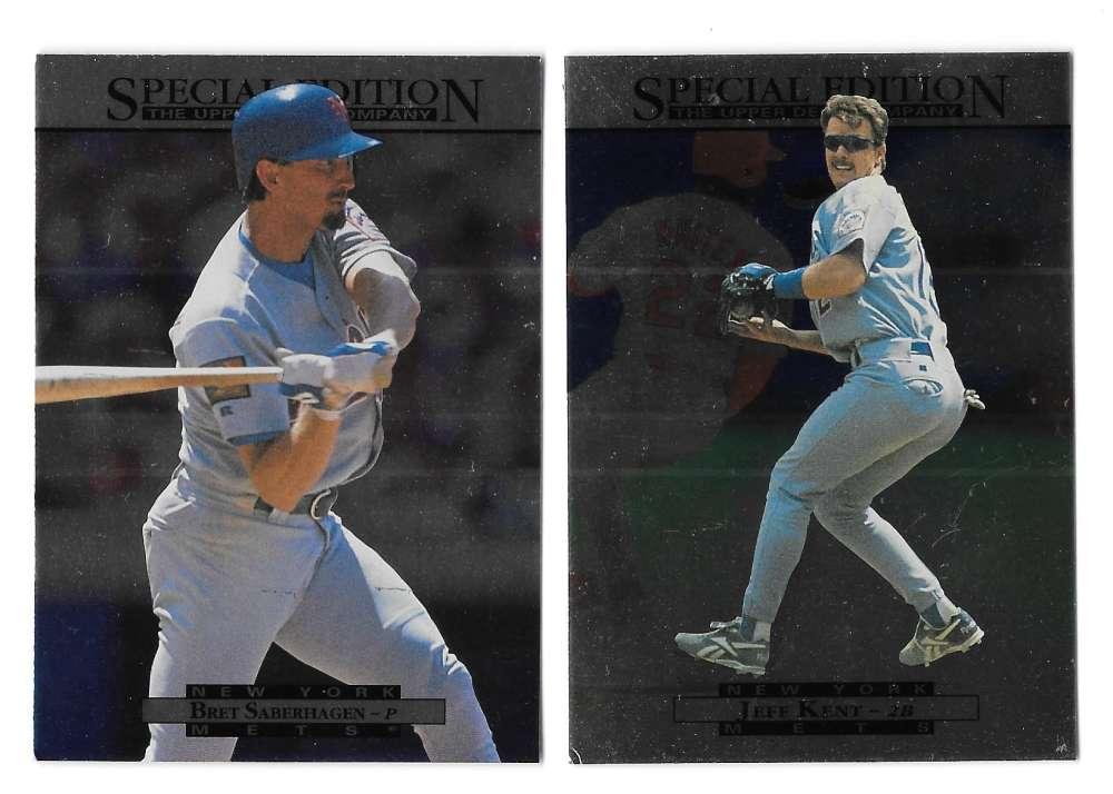 1995 Upper Deck Special Edition SE - NEW YORK METS Team Set