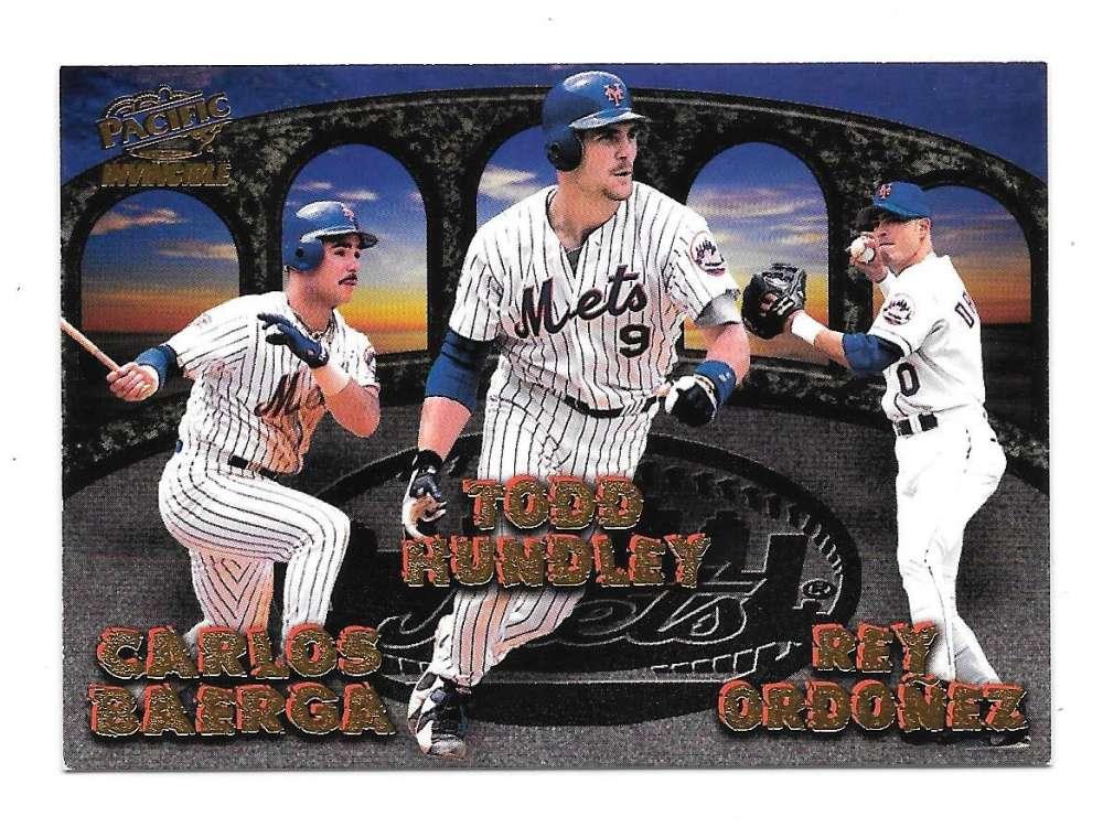 1998 Pacific Invincible Team Checklist - New York Mets