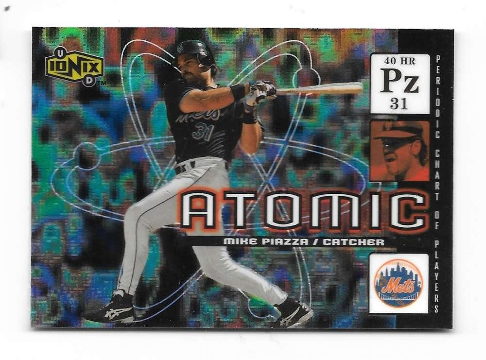 2000 UD Ionix Atomic - NEW YORK METS Team Set