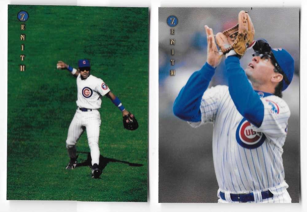 1997 Zenith - CHICAGO CUBS Team Set