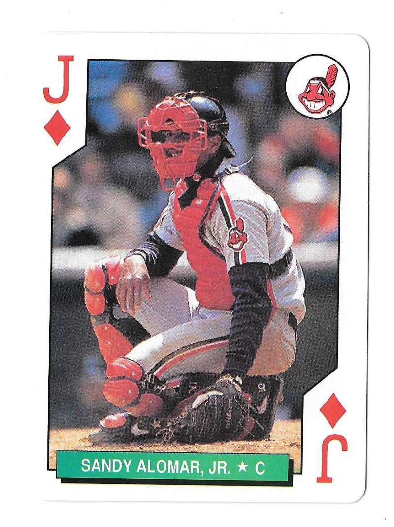 1991 Playing Card All-Stars CLEVELAND INDIANS 1 Card