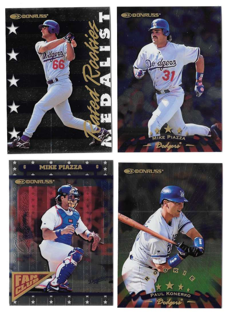 1998 Donruss Collection Donruss - LOS ANGELES DODGERS Team Set