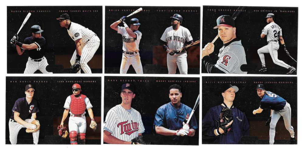 1995 Bowmans Best - Multi Player cards (13)