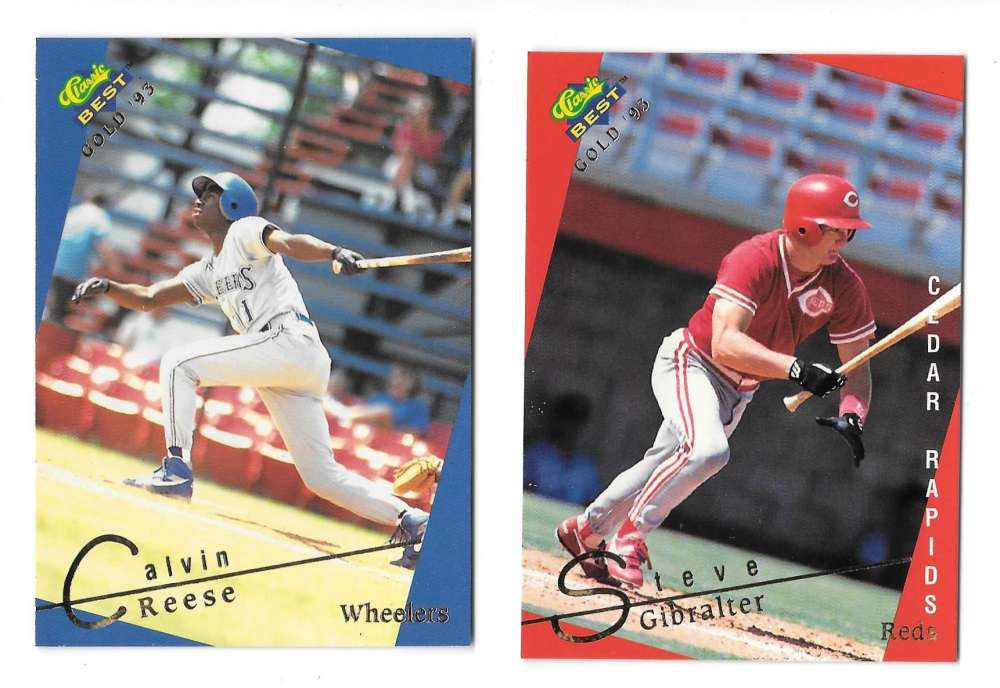 1993 Classic/Best Minors Gold - CINCINNATI REDS Team Set
