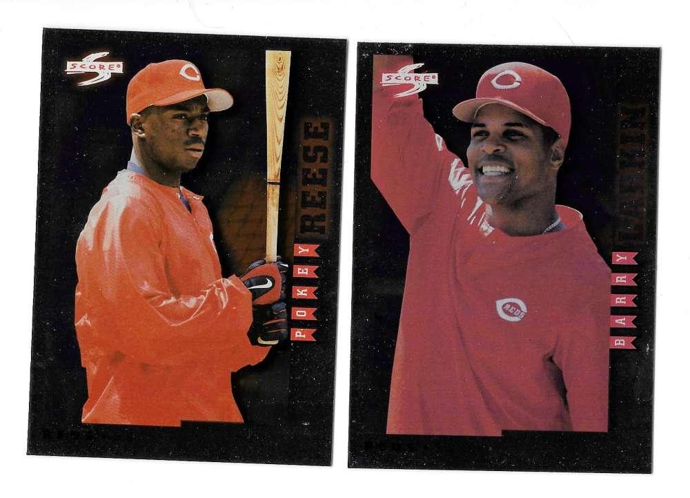 1998 Score Rookie Traded Showcase - CINCINNATI REDS Team Set