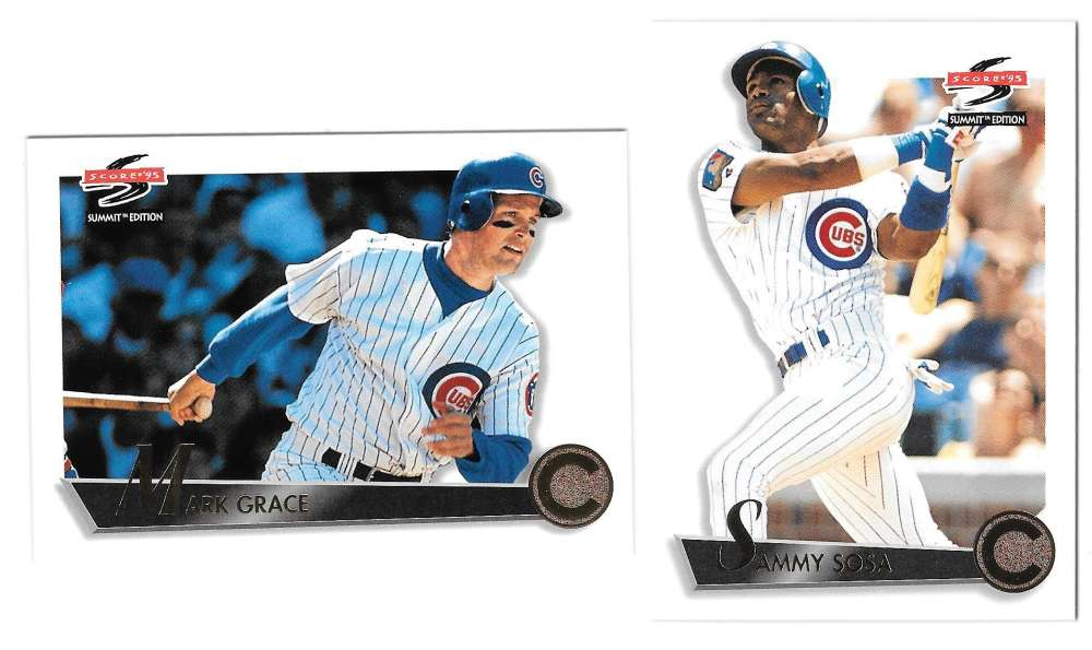 1995 SUMMIT - CHICAGO CUBS Team Set