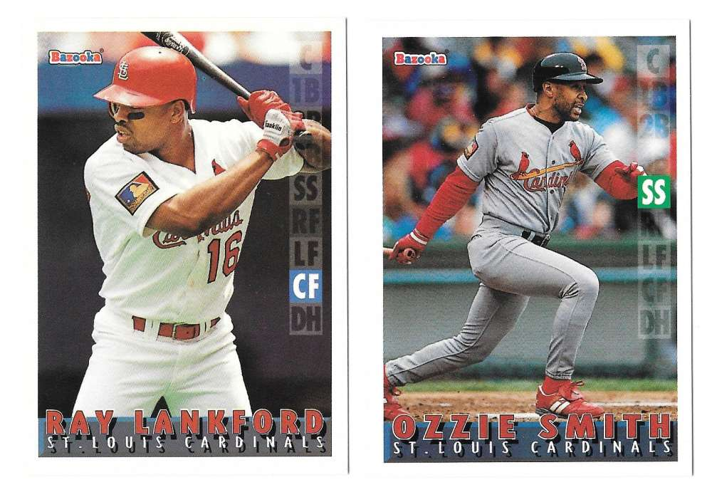1995 Bazooka - ST LOUIS CARDINALS Team Set