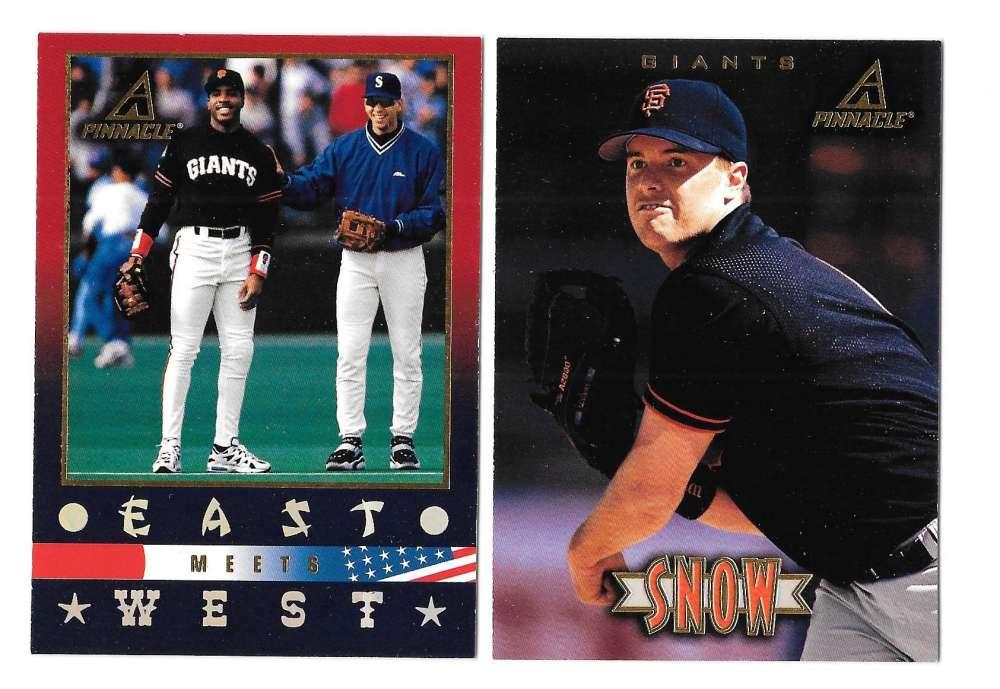1997 Pinnacle New - SAN FRANCISCO GIANTS Team Set