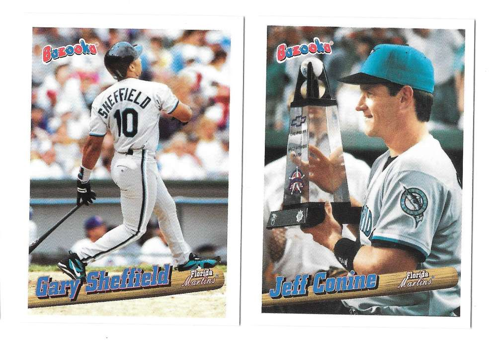 1996 Bazooka - FLORIDA MARLINS Team Set
