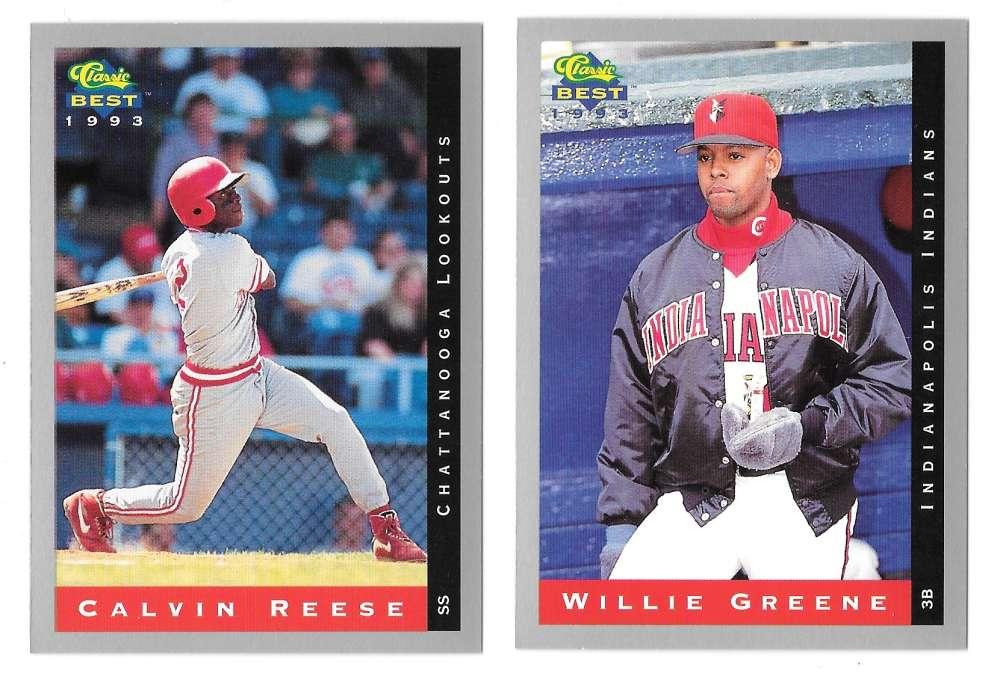 1993 Classic/Best Minors - CINCINNATI REDS Team Set