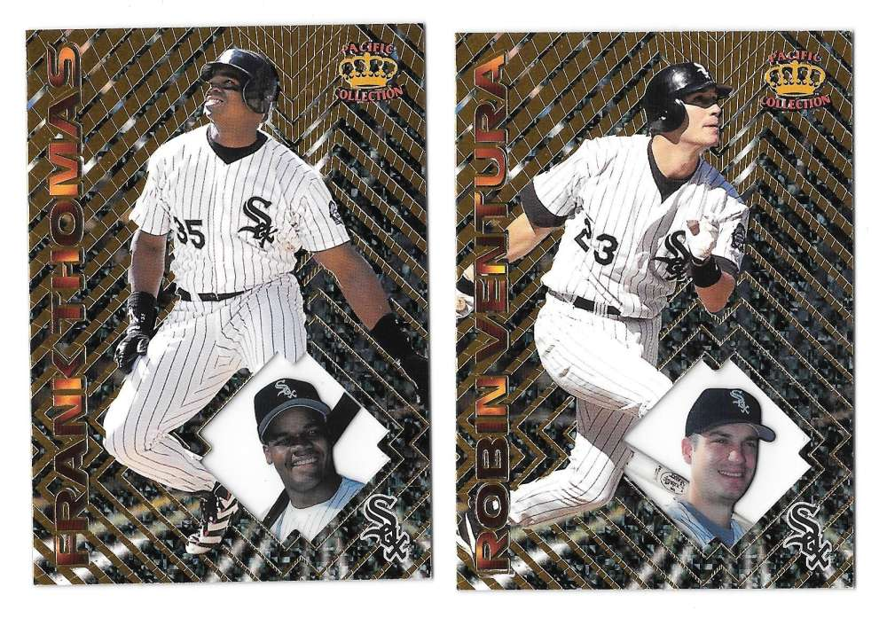 1997 Pacific Prism - CHICAGO WHITE SOX Team Set