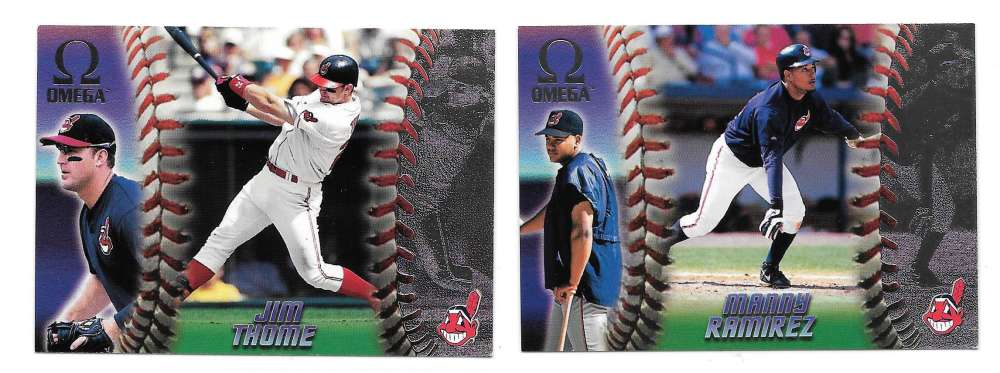 1998 Pacific Omega - CLEVELAND INDIANS Team Set