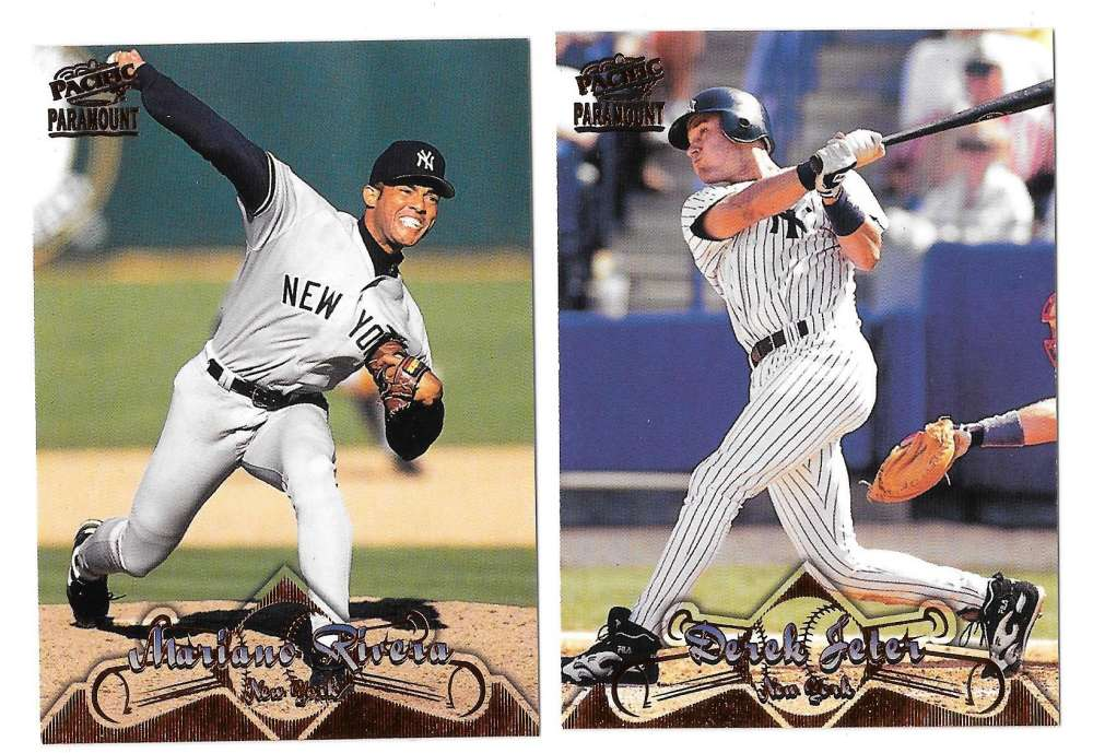 1998 Pacific Paramount Copper - NEW YORK YANKEES Team Set