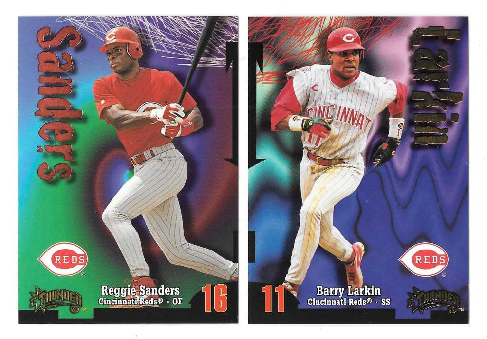 1998 Circa Thunder - CINCINNATI REDS Team Set