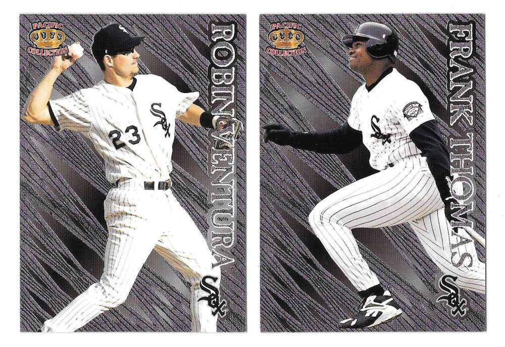 1996 Pacific Prism - CHICAGO WHITE SOX Team Set