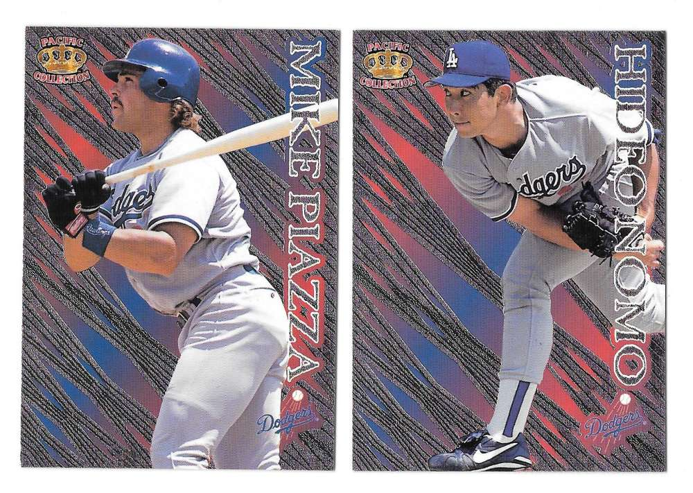 1996 Pacific Prism - LOS ANGELES DODGERS Team Set
