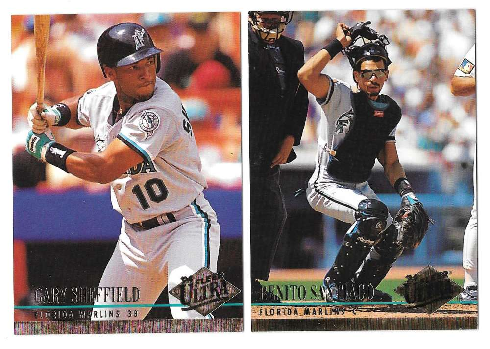 1994 ULTRA - FLORIDA MARLINS Team Set