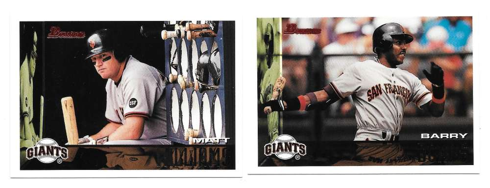 1995 Bowman - SAN FRANCISCO GIANTS Team Set