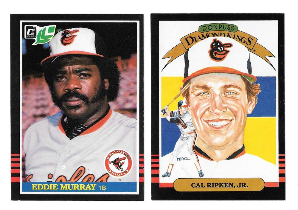 1985 LEAF - BALTIMORE ORIOLES Team Set