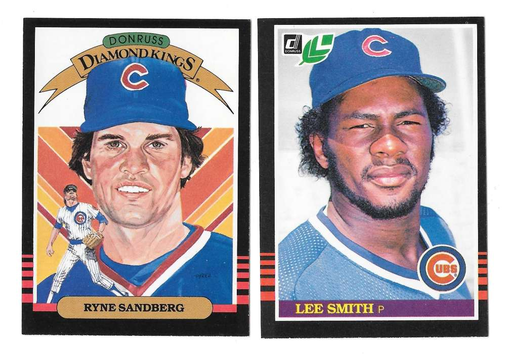 1985 LEAF - CHICAGO CUBS Team Set