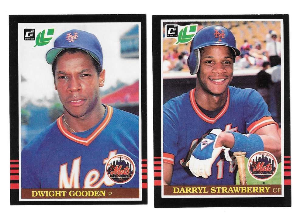 1985 LEAF - NEW YORK METS Team Set