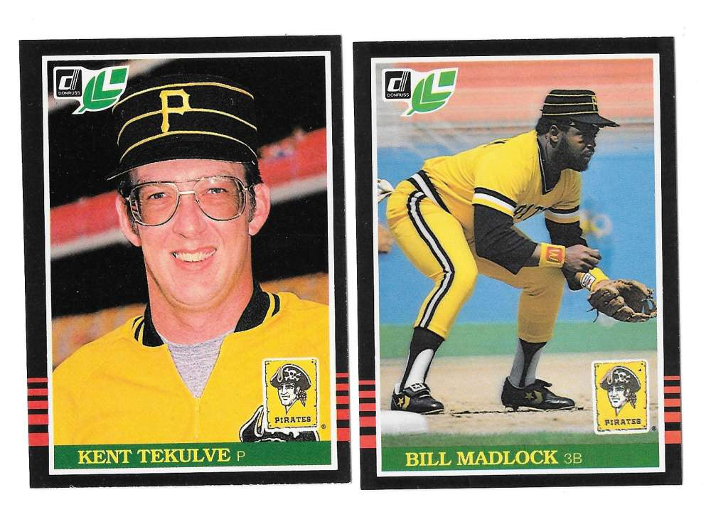 1985 LEAF - PITTSBURGH PIRATES Team Set
