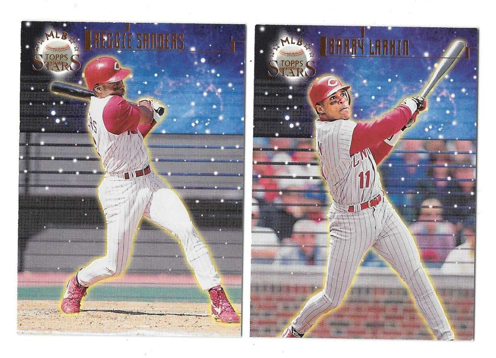1998 Topps Stars Bronze (#/9799) - CINCINNATI REDS Team Set