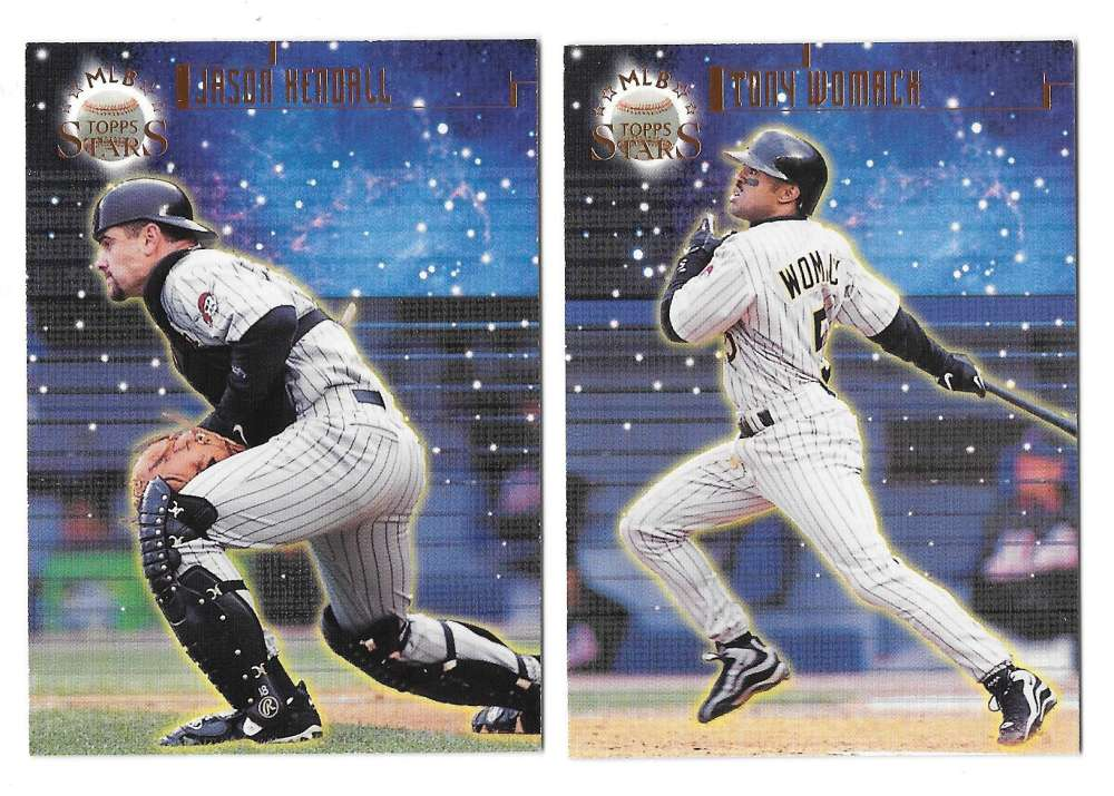 1998 Topps Stars Bronze (#/9799) - PITTSBURGH PIRATES Team Set