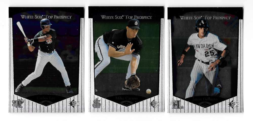 1998 SP Top Prospects (Minors) - CHICAGO WHITE SOX Team Set