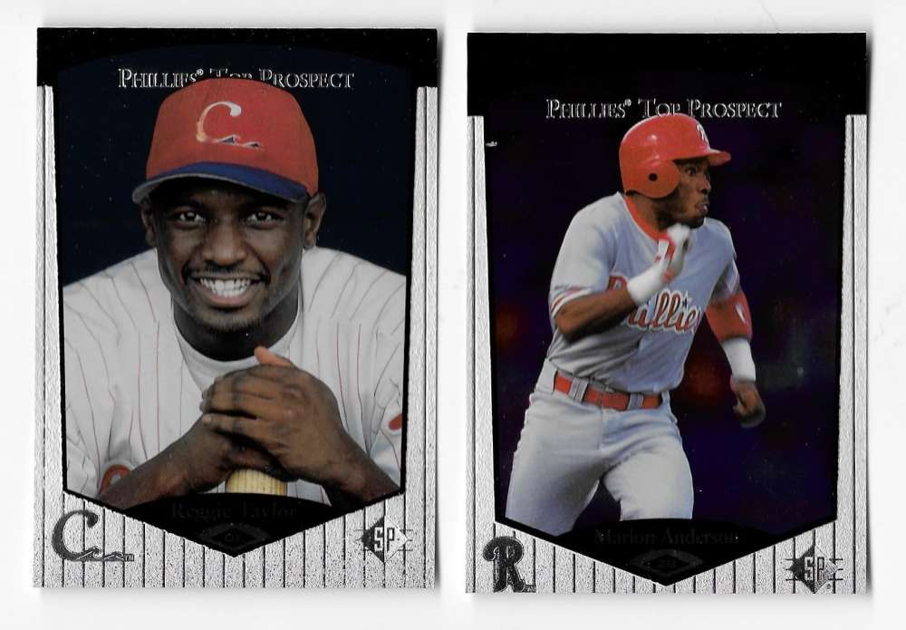 1998 SP Top Prospects (Minors) - PHILADELPHIA PHILLIES Team Set