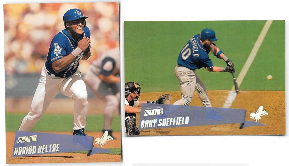 2000 Topps Stadium Club - LOS ANGELES DODGERS Team Set