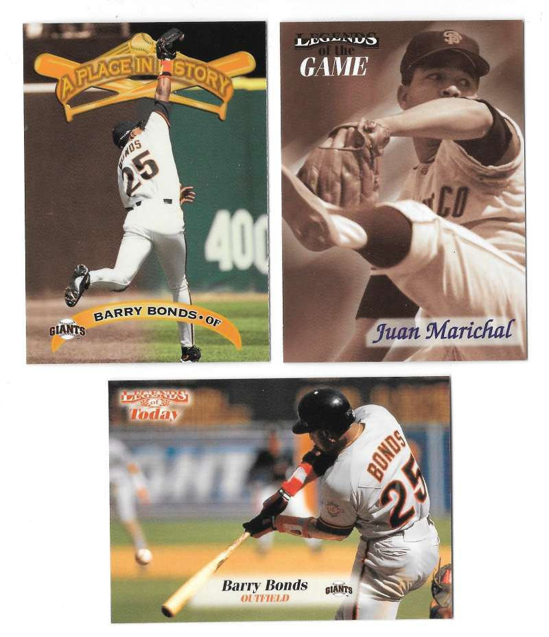 1998 Sports Illustrated Then and Now - SAN FRANCISCO GIANTS Team Set