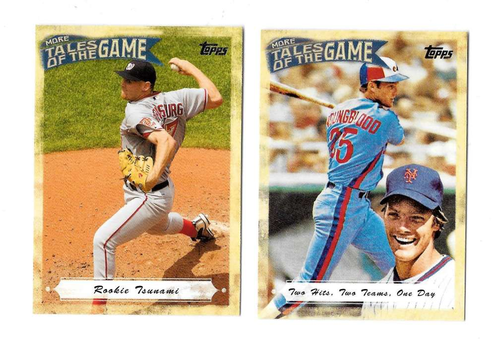 2010 Topps Update More Tales of the Game - MONTREAL EXPOS / WASHINGTON NATIONALS