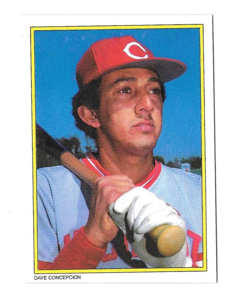1983 Topps Glossy Send-Ins - CINCINNATI REDS Team Set