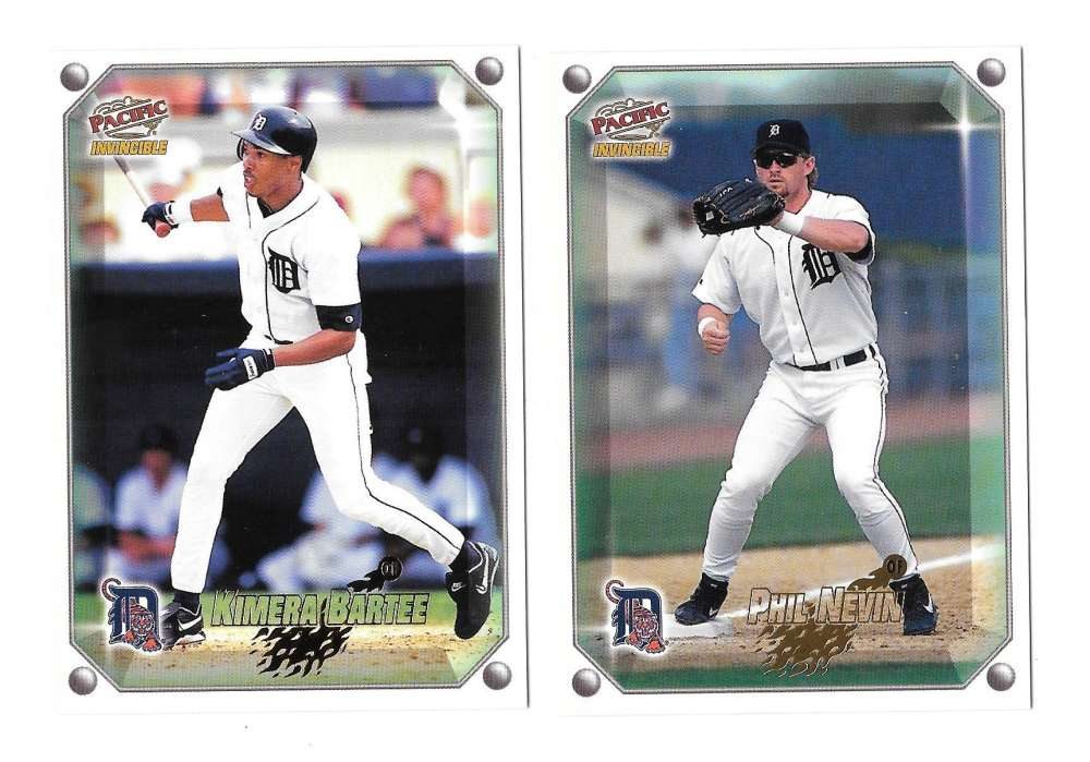 1998 Pacific Invincible Gems of the Diamond - DETROIT TIGERS Team Set