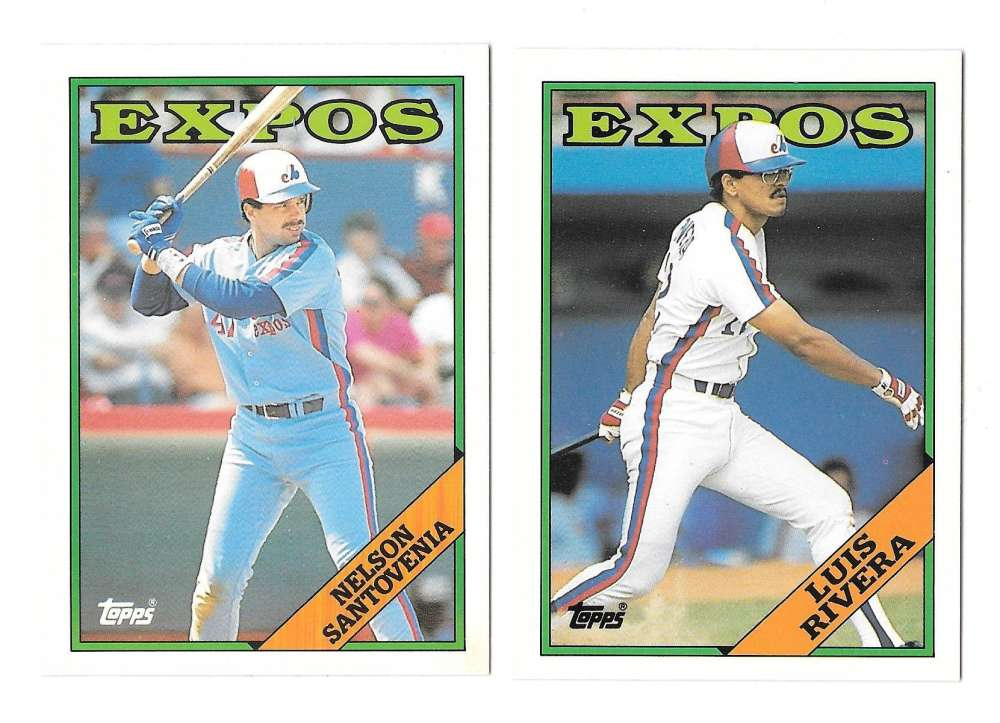 1988 Topps Traded - MONTREAL EXPOS Team Set