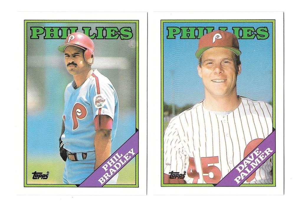 1988 Topps Traded - PHILADELPHIA PHILLIES Team Set