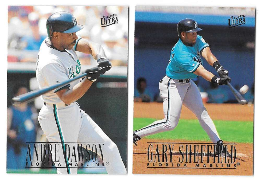 1996 ULTRA - FLORIDA MARLINS Team Set