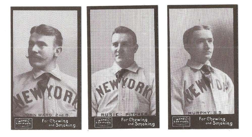 1895 Mayo Cut Plug N300 Reprints - NEW YORK GIANTS Team Set