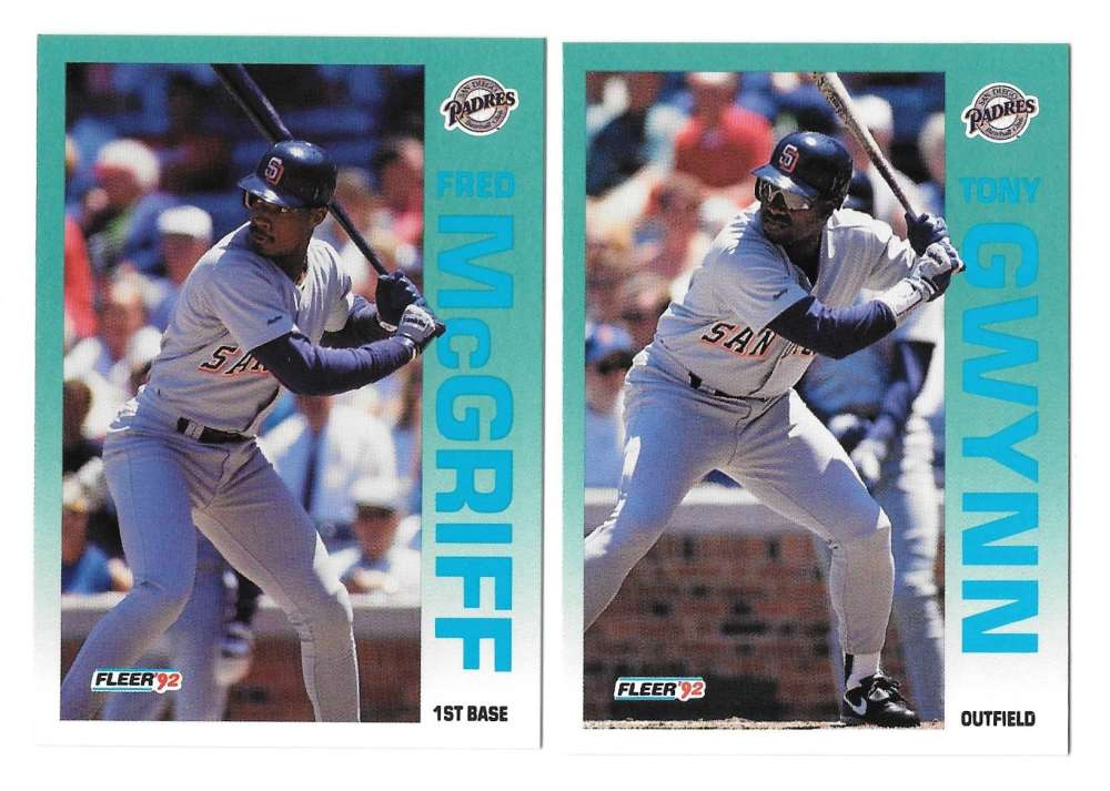 1992 FLEER - SAN DIEGO PADRES Team Set