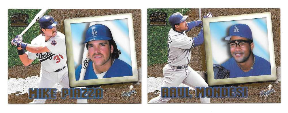 1998 Pacific Invincible - LOS ANGELES DODGERS Team Set