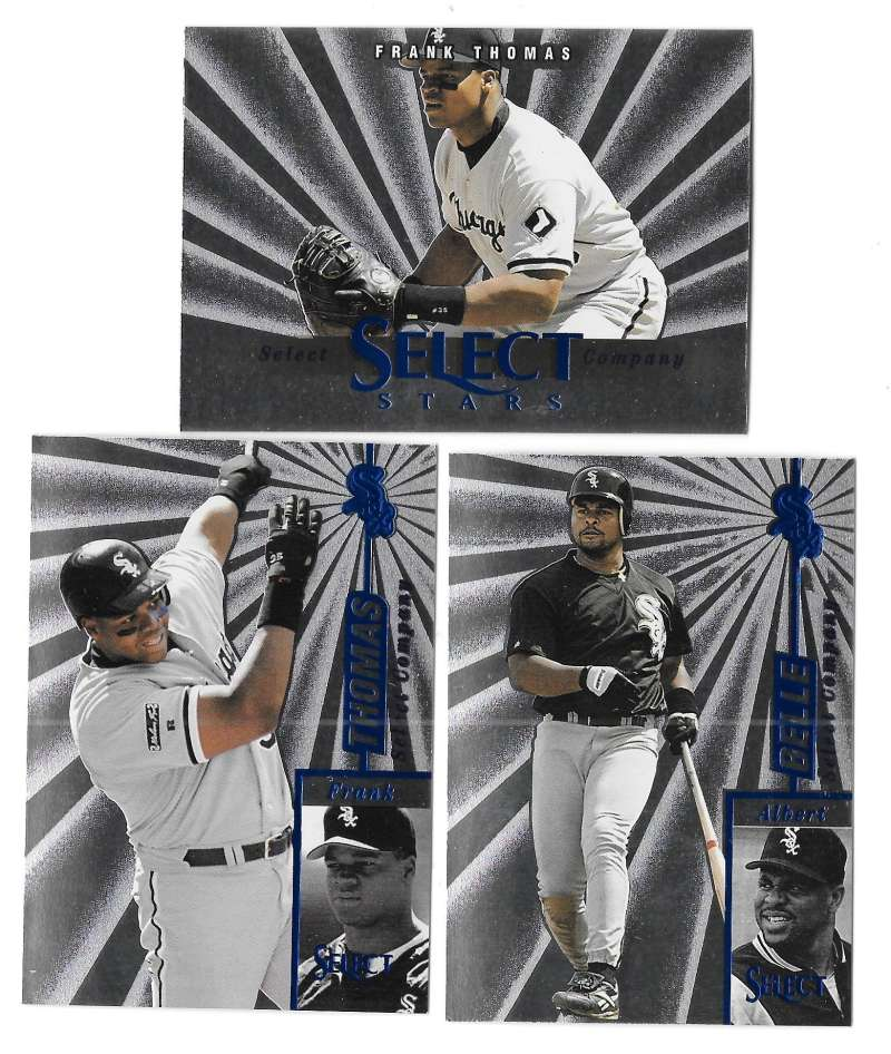1997 Select - CHICAGO WHITE SOX Team Set