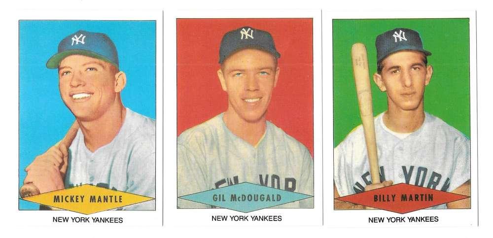 1954 Red Heart Reprints - NEW YORK YANKEES Team Set